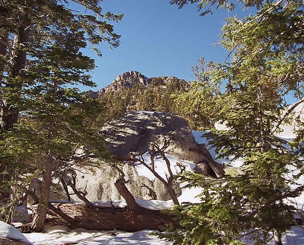 Не достигнутая вершина, Сан Хасинто (San Jacinto), CА