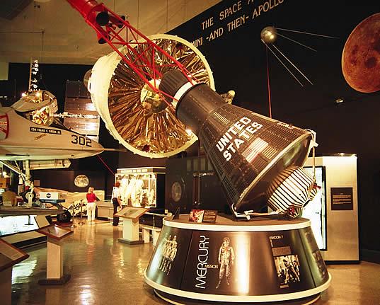 Первый пилотируемый корабль США Mercury, Аэрокосмический музей