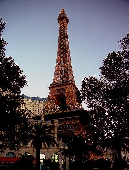 Визитная карточка казино Paris
