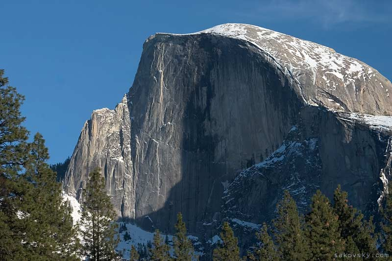 Вид на Half Dome, Парк Йосeмити, Калифорния | Yosemite, California