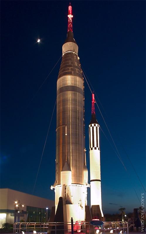 Сад Ракет, Космический центр Кенеди, Мыс Канаверал | Rocket garden, Kennedy Space Center, Cape Canaveral
