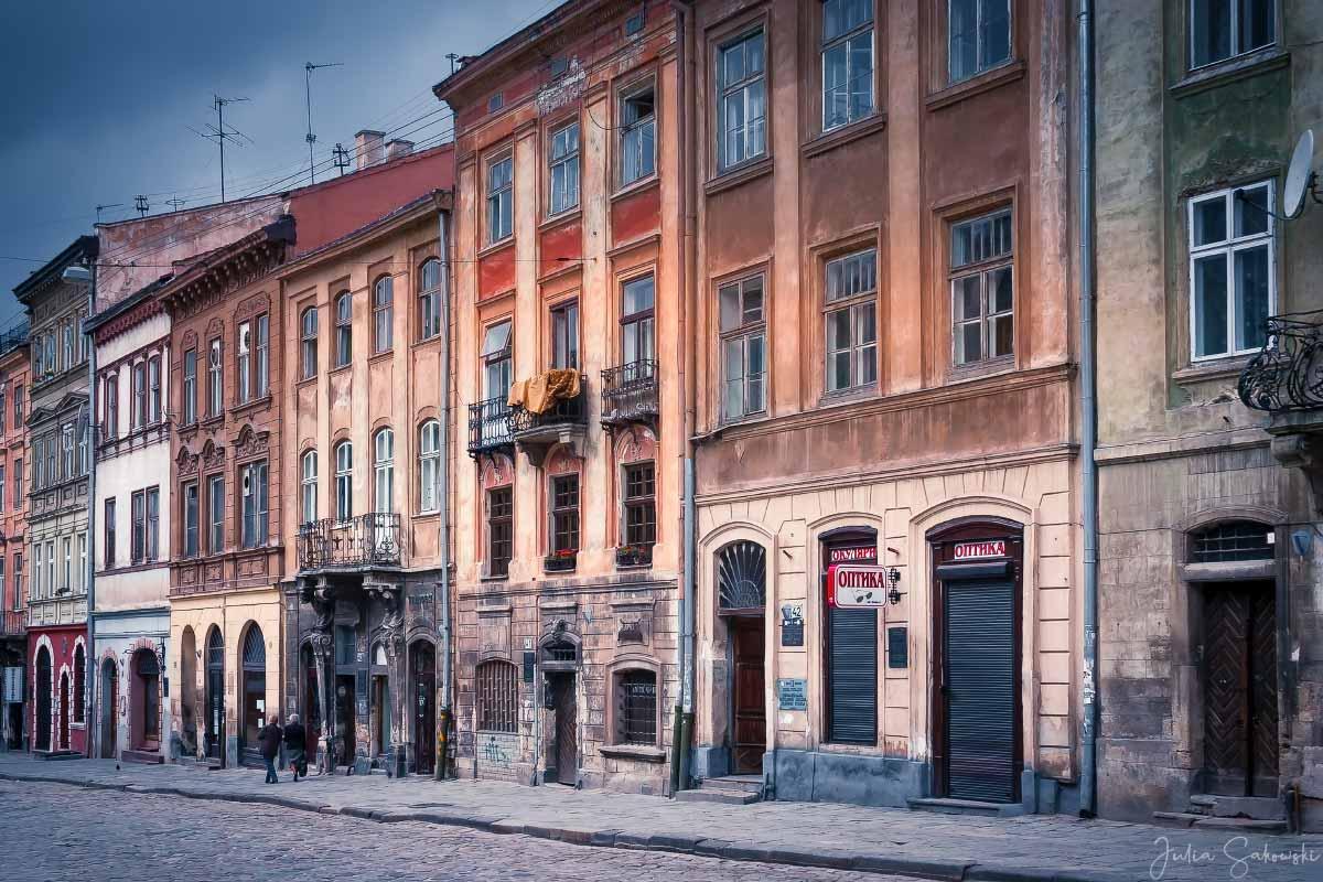 Дома на площади Рынок
