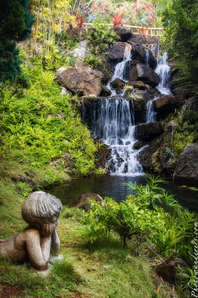 Водопад у чайного дома | Waterfall by the Tea House