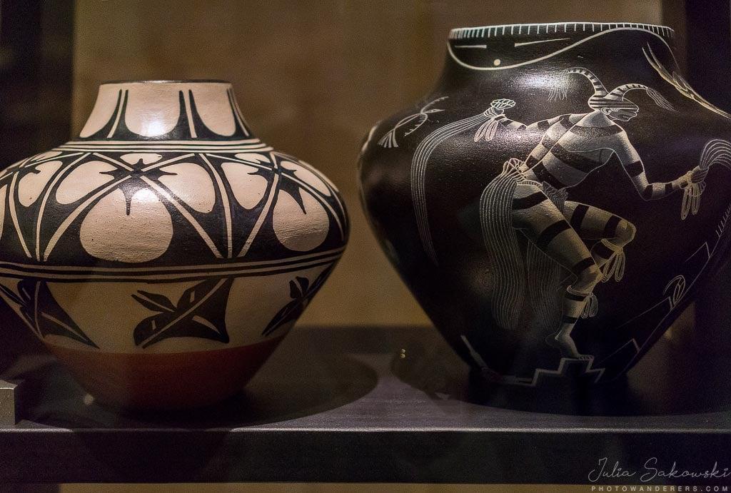 Образцы керамики индейцев-пуэбло | Zia pueblo Indians Pottery