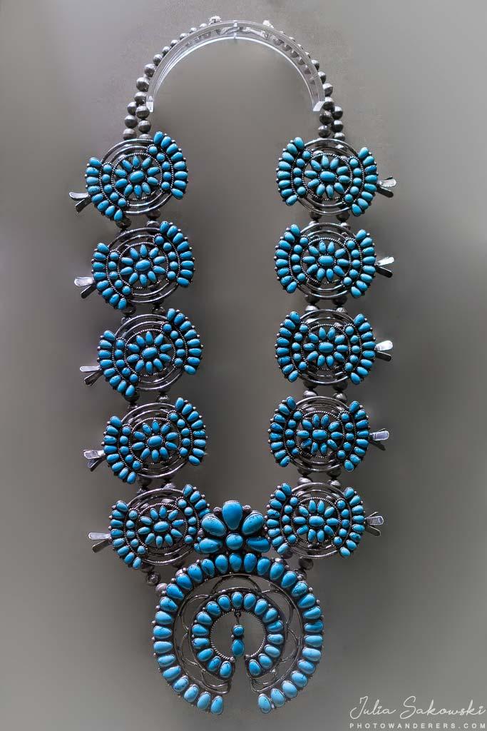 Ожерелье индейцев зуни, начало 1940-х | Zuni Necklace. В гостях у индейцев
