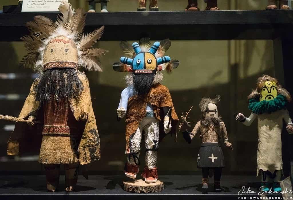 Куклы Kачинa индейцев Хопи | Hopi Katsina dolls
