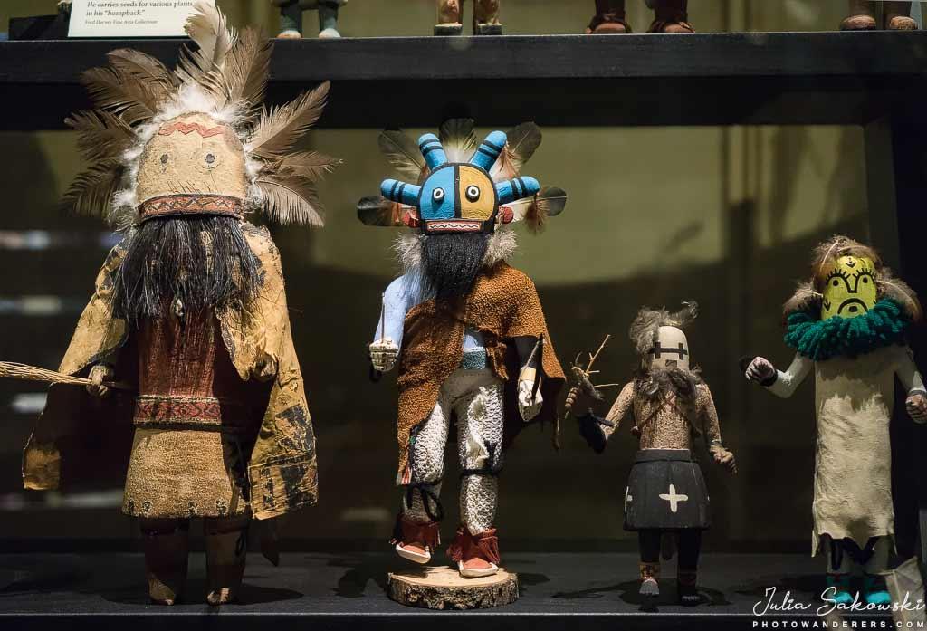 Куклы Kачинa индейцев Хопи | Hopi Katsina dolls. В гостях у индейцев