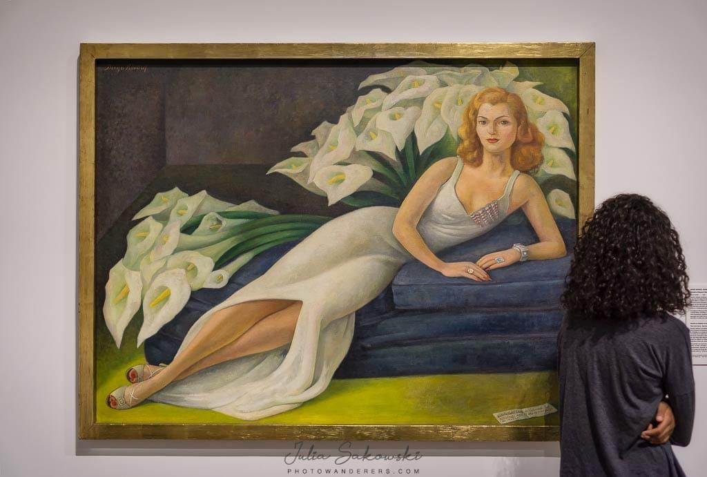 Диего Ривера, Портрет Наташи Гельман, 1943 | Diego Rivera, Portrait of Natasha Gelman