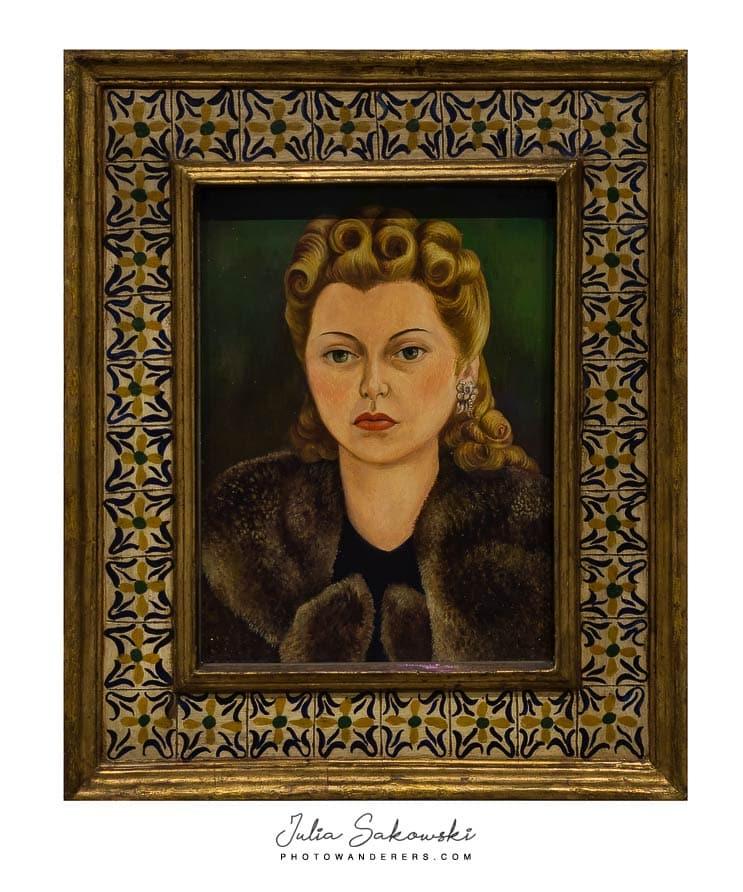 Фрида Кало, Портрет Наташи Гельман, 1943 | Frida Kahlo, Portrait of Natasha Gelman