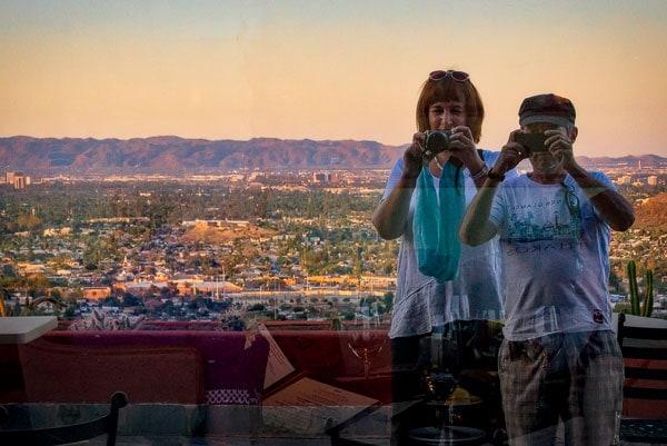 Закат в Фениксе, Аризона