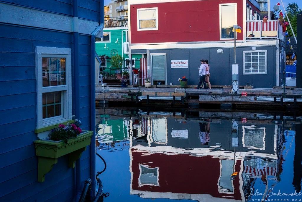 Отражения, Fisherman Wharf, Виктория