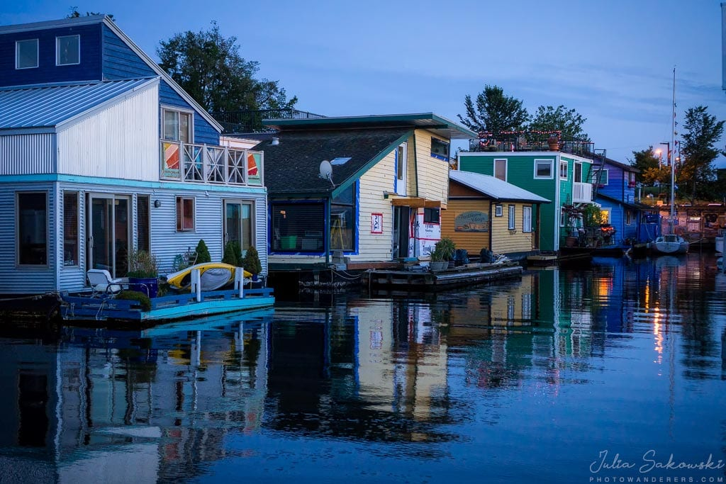 Сумерки. Fisherman Wharf
