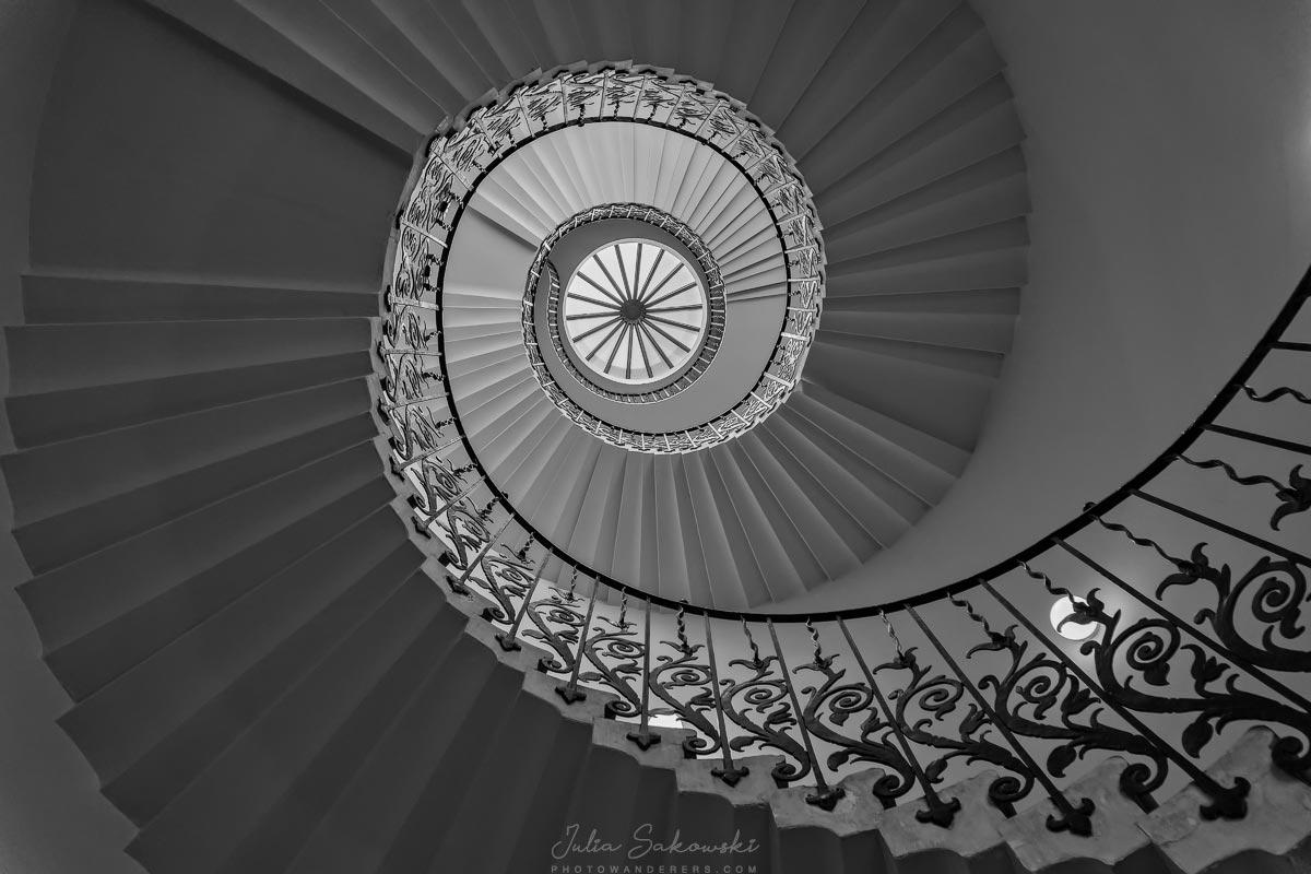 Tulip Stairs em Casa da rainha em Greenwich |  Tulip Stairs na Casa da Rainha Greenwich