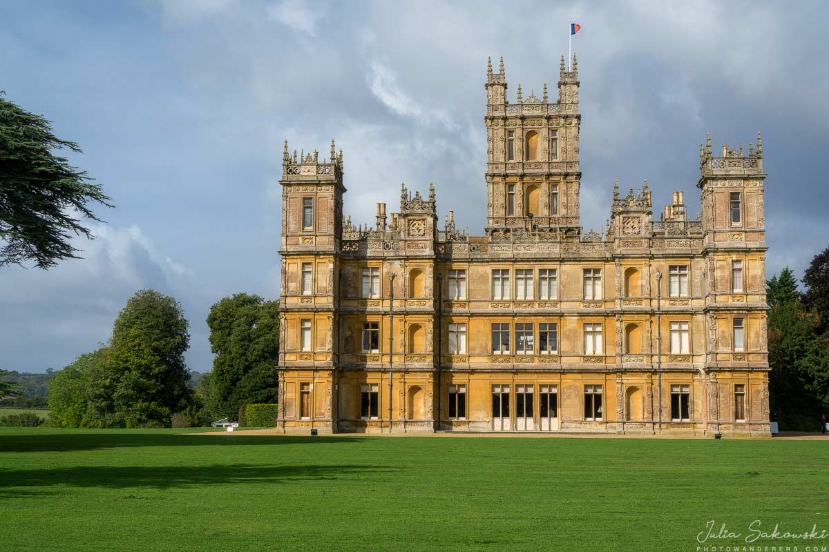 Аббатство Даунтон, Замок Хайклер в Ньюбери, Англия | Downton Abbey or Highclere Castle in Newbury, England