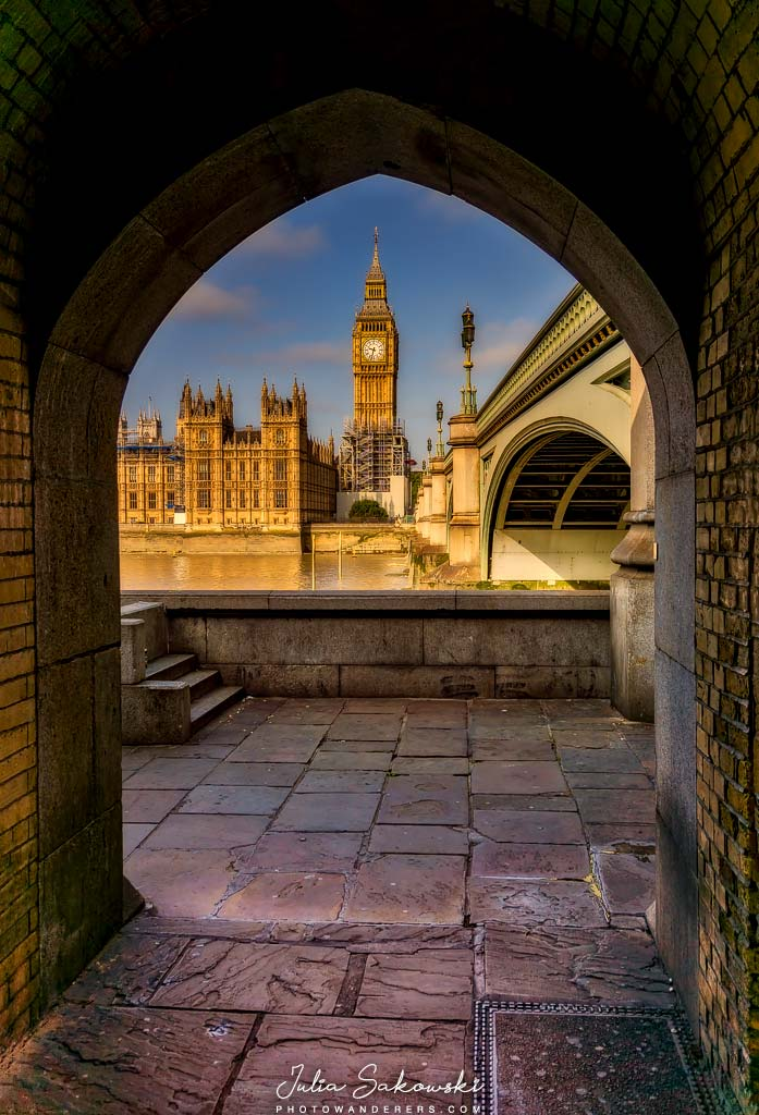 Парламент и Биг Бен с берега реки Темзы, Лондон | Parliament and Big Ben from the Thames riverbank