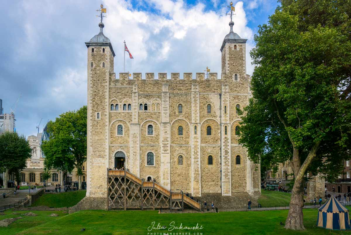 Белая Башня или Донжон Вильгельма Завоевателя, Лондон | White Tower of London