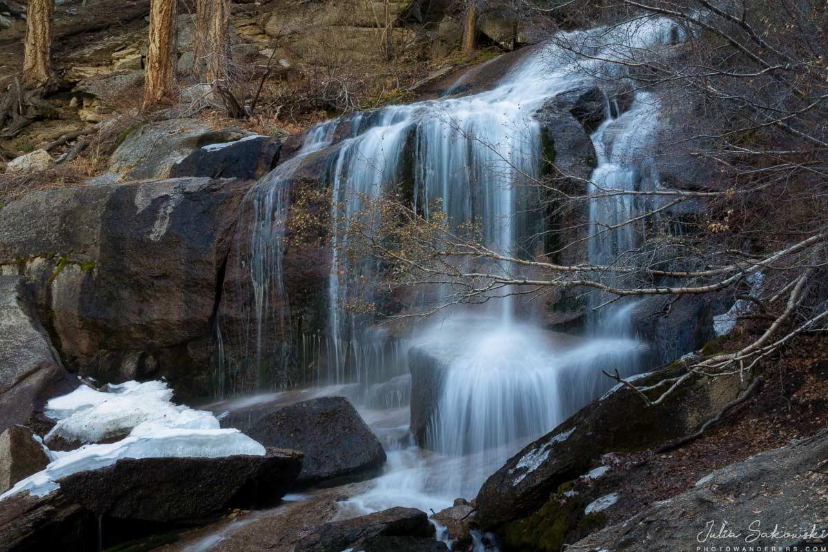 Водопады ручья Лон-Пайн | Lone Pine Creek Falls
