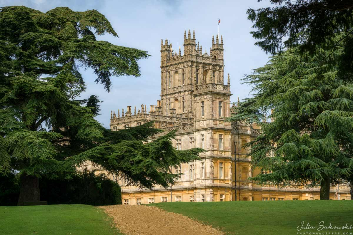 Настоящее Аббаство Даунтон, Замок Хайклер | Highclere Castle, Real Downton Abbey, England