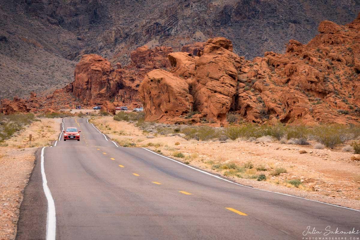 Дорога через Долину Огня, Невада | Valley of Fire Road, Nevada