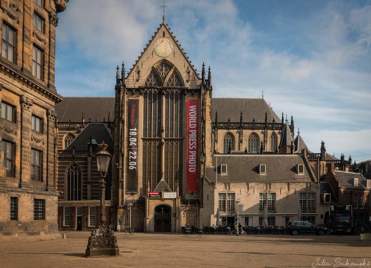 Де Ньиве Керк (De Nieuwe Kerk), Амстердам