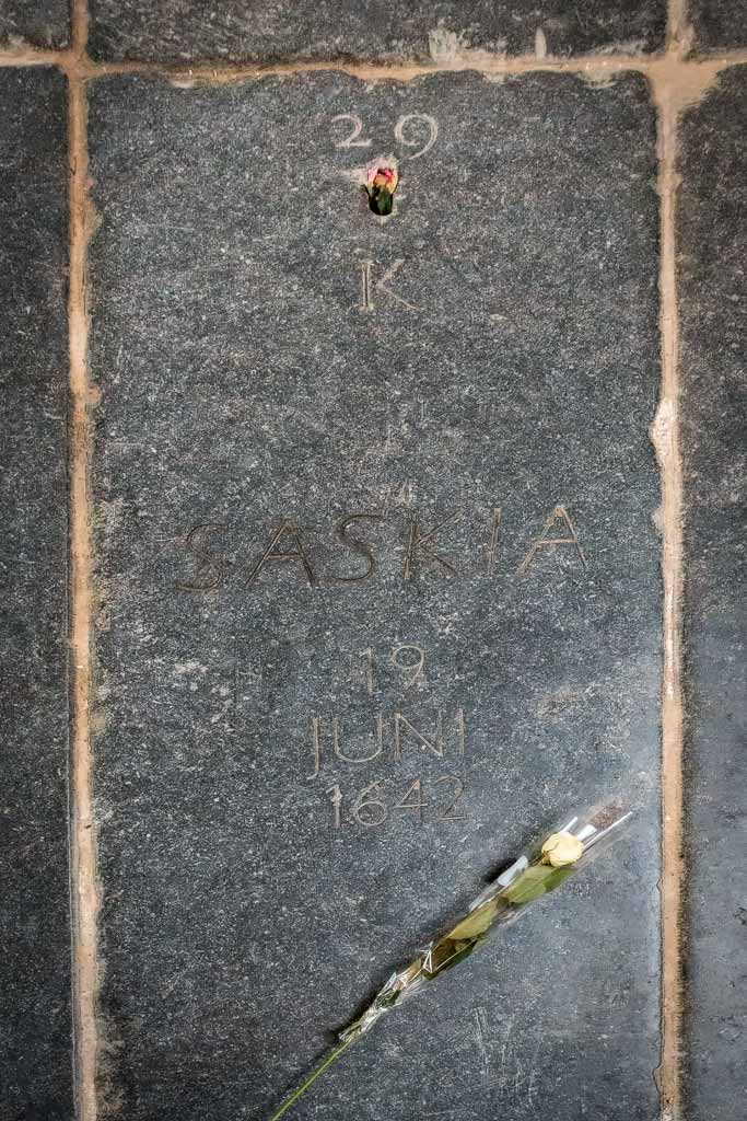 Надгробие жены Рембрандта, Саскии