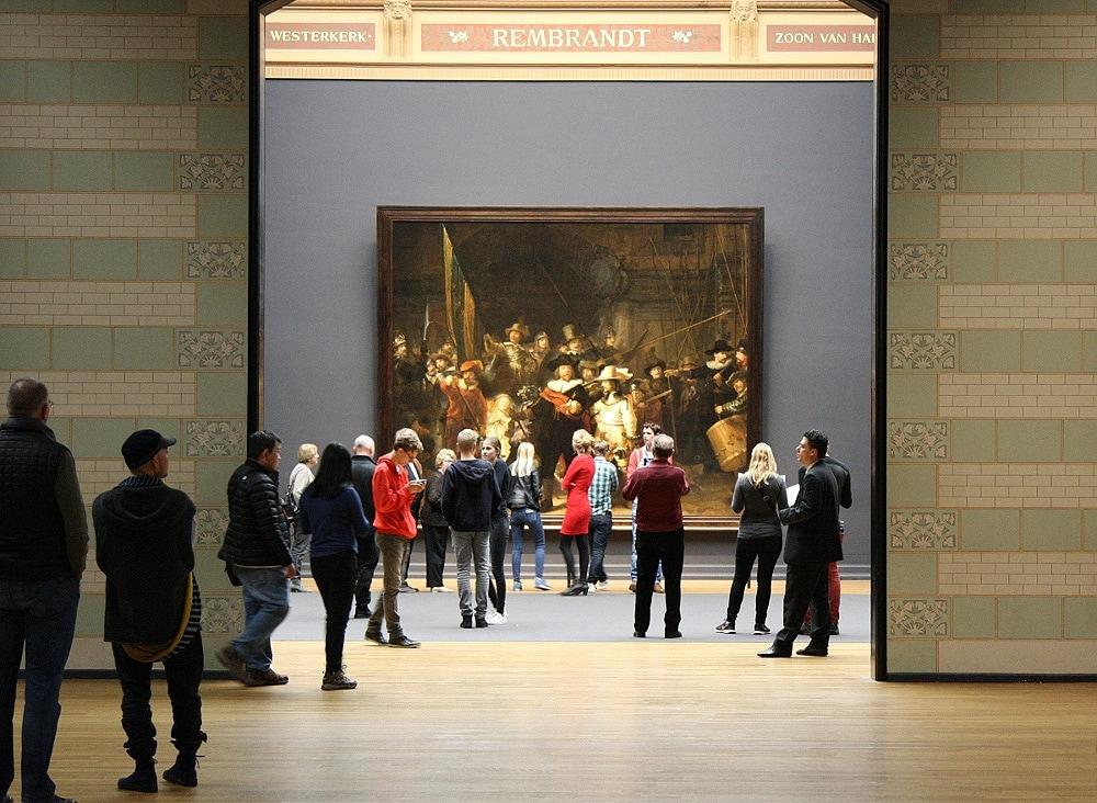 Ночной Дозор Рембрандта в Галерее славы