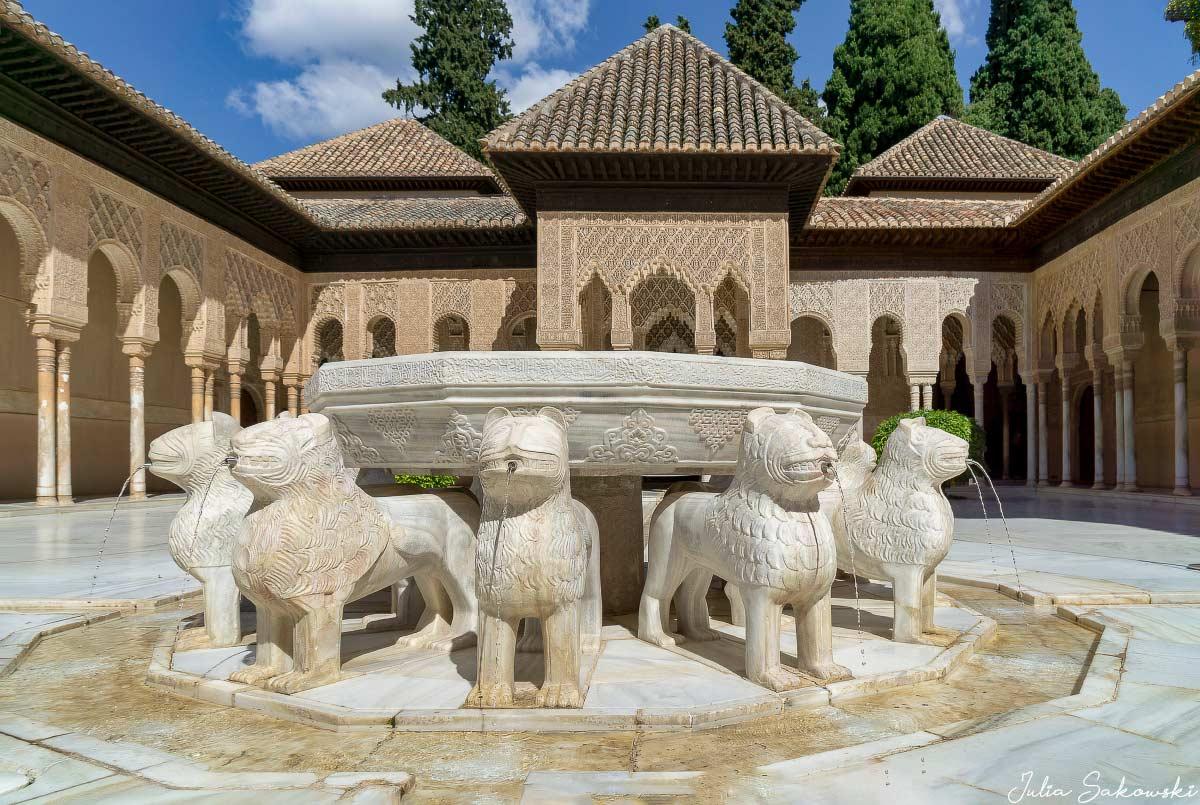Львиный дворик, Альгамбра | Court of the Lions, Alhambra