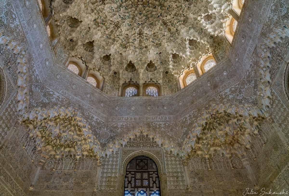 Кружевной свод, Зал Двух Сестер, Альгамбра | Mocárabe Dome, Hall of the Two Sisters