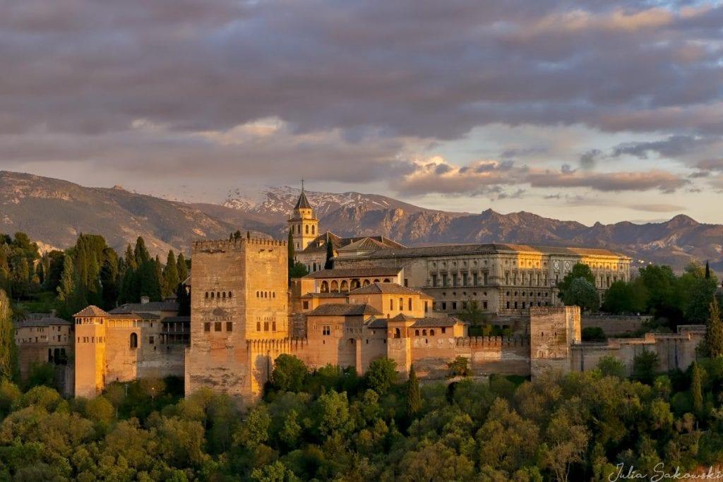 Закат над Альгамброй, Гранада | Alhambra Sunset, Granada