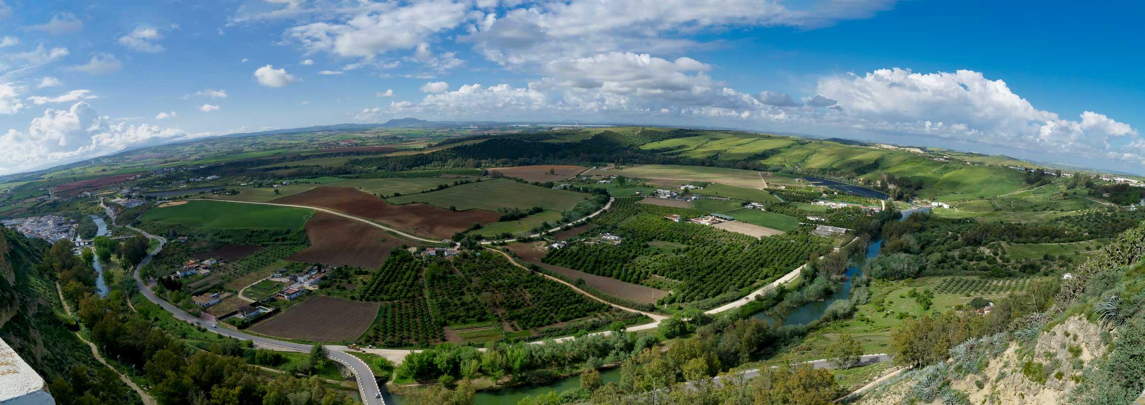 Долина реки Гвадалете, Аркос-де-ла-Фронтера | Guadalete Valley, Arcos de la Frontera