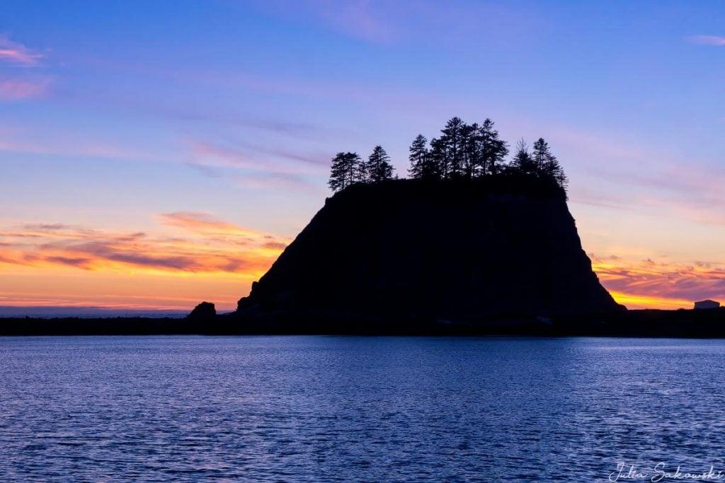 Закат в Ла-Пуш, Вашингтон | Путеводитель по блогу