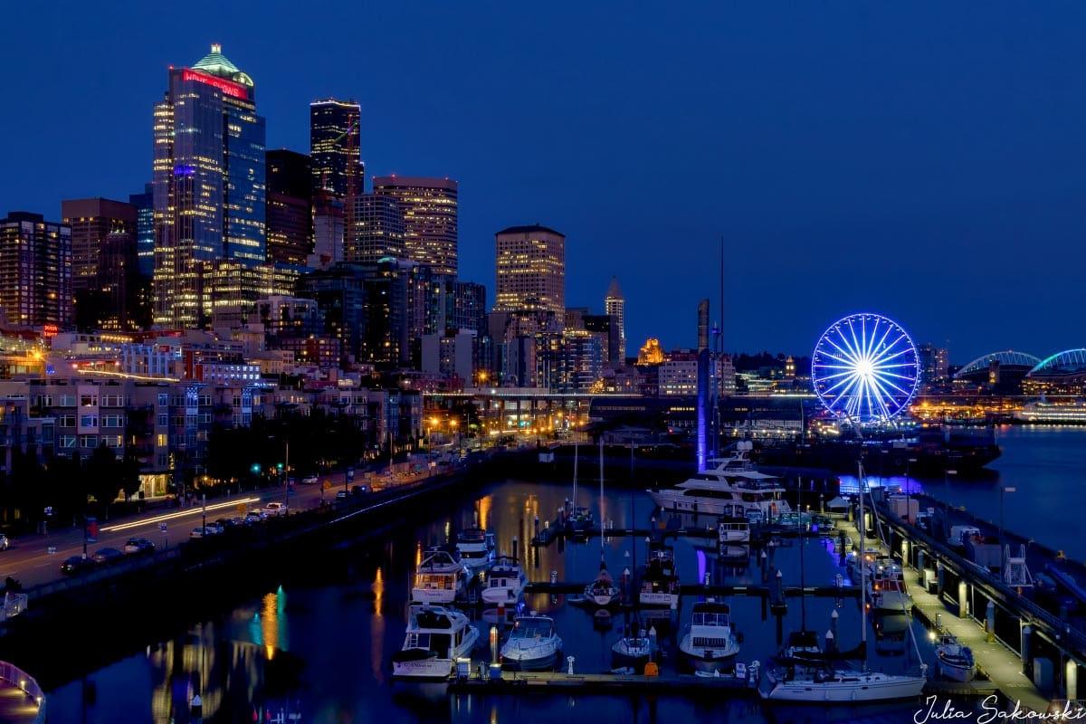 Сумерки в Сиэтле, Вашингтон