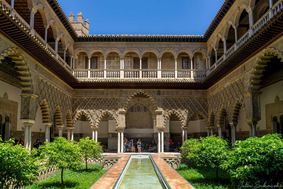Двор Девственниц, Алькасар, Севилья | Patio de las Doncellas, Alkazar, Seville