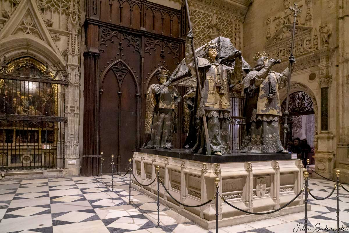 Саркофаг Колумба, Севилья | Columbus Tomb, Seville Cathedral