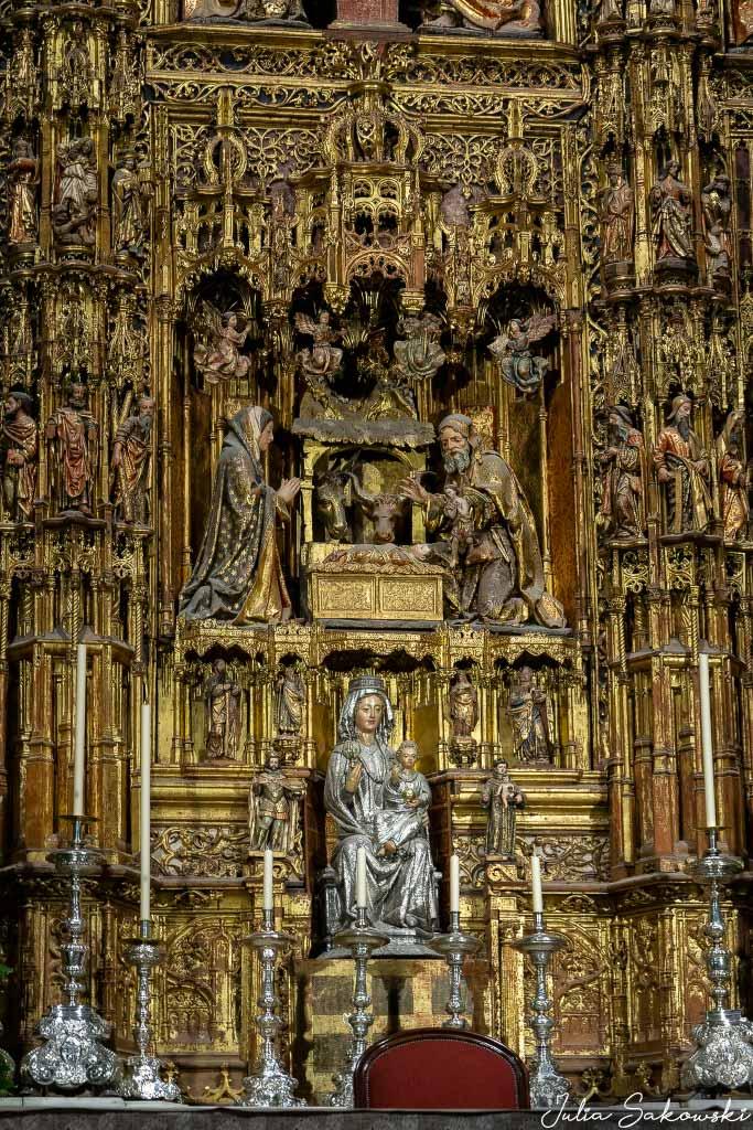 Золотой алтарь, Кафедральный Собор, Севилья | Golden Altar, Seville Cathedral