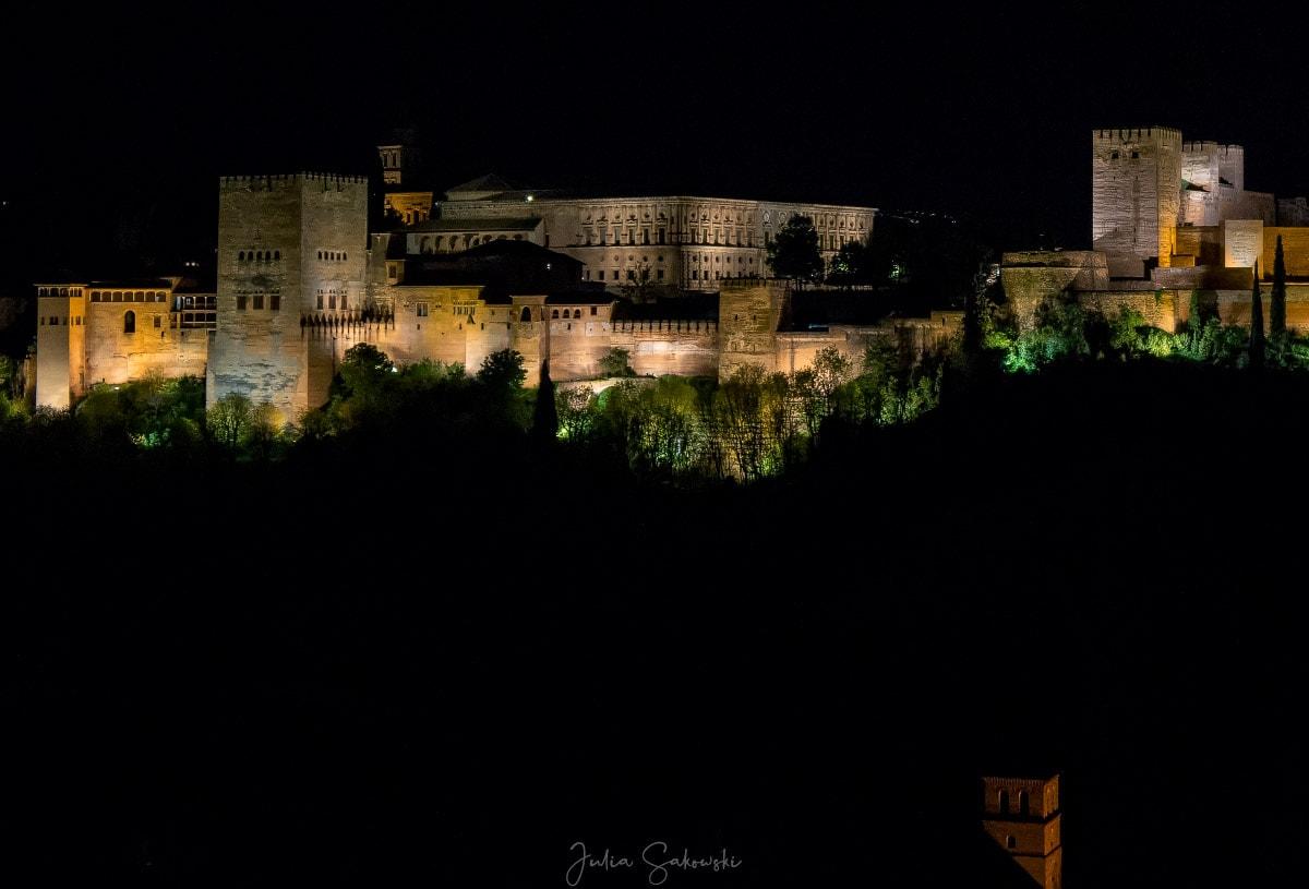 Арабская ночь, Альгамбра, Гранада. Путешествия 2018 года