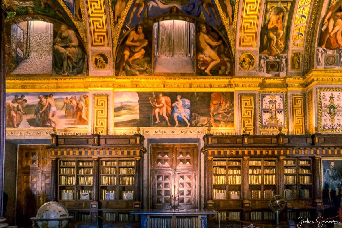 Библиотека, Сан-Лоренцо де Эскориал, Испания