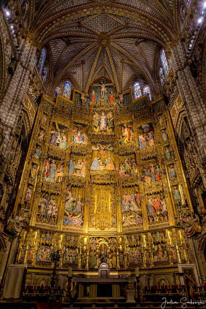 Золотой алтарь Кафедрального собора, Толедо, Испания