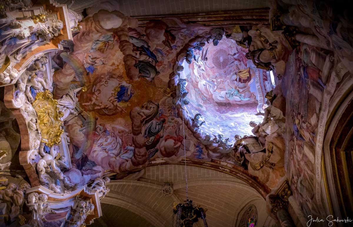 """Потолок капеллы """"Эль Транспаренте"""", Кафедральный собор, Толедо, Испания"""