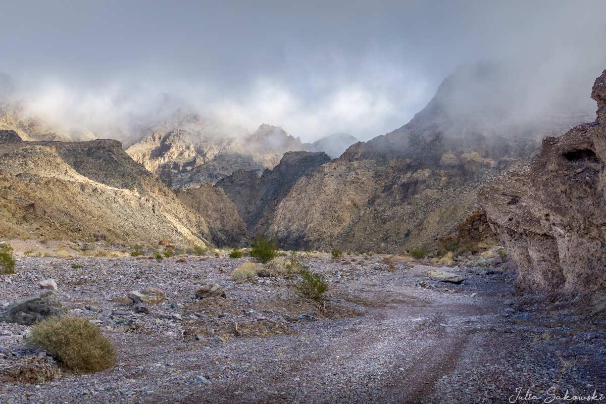 Каньон Эхо в Национальном парке Долина Смерти