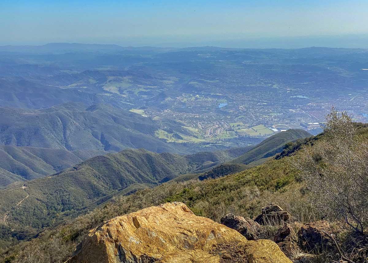 Вид с пика Моджески, Калифорния