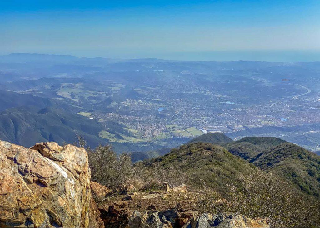 Южная Калифорния с горы Сэддлбек