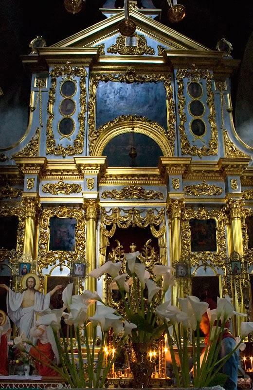 Иконостас Спасо-Преображенский собора