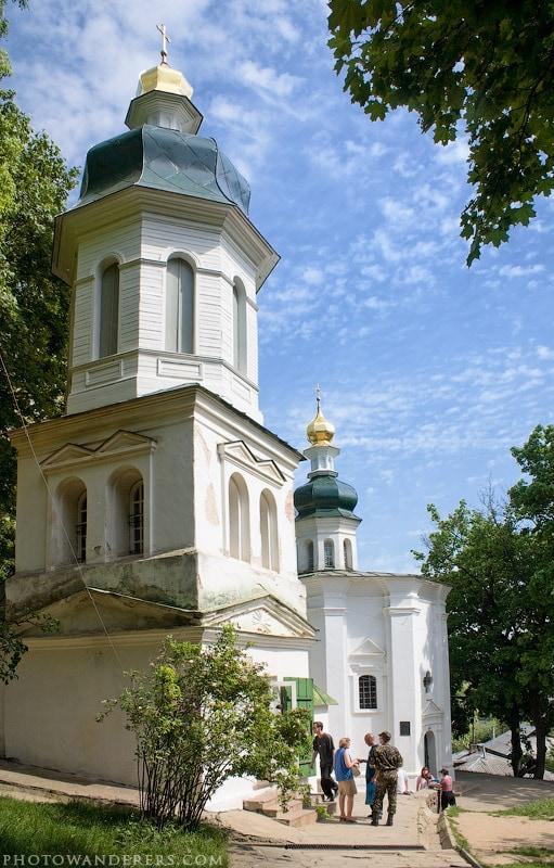 Ильинская церковь. Чернигов