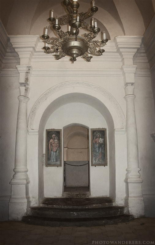 Церковь Феодосия Тотемского. Троицко-Ильинской монастырь