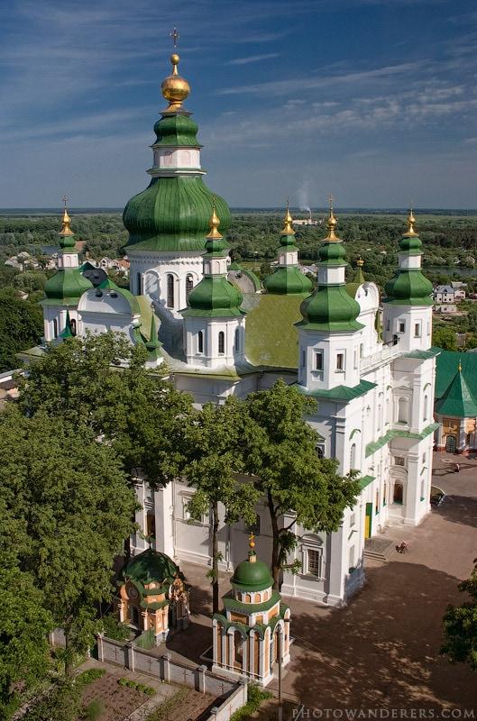 Свято-Троицкий кафедральный собор. Чернигов