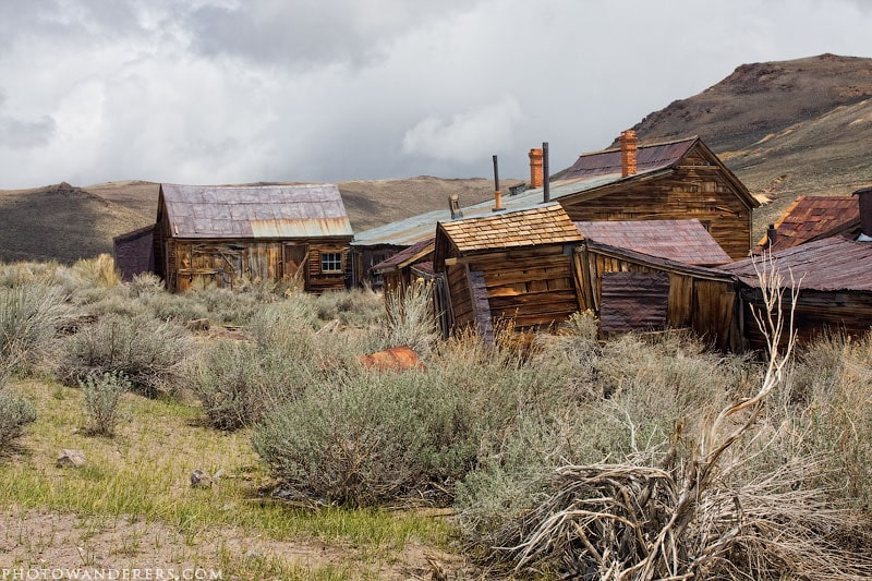 Главная улица, город-призрак Боди (Bodie Ghost Town)