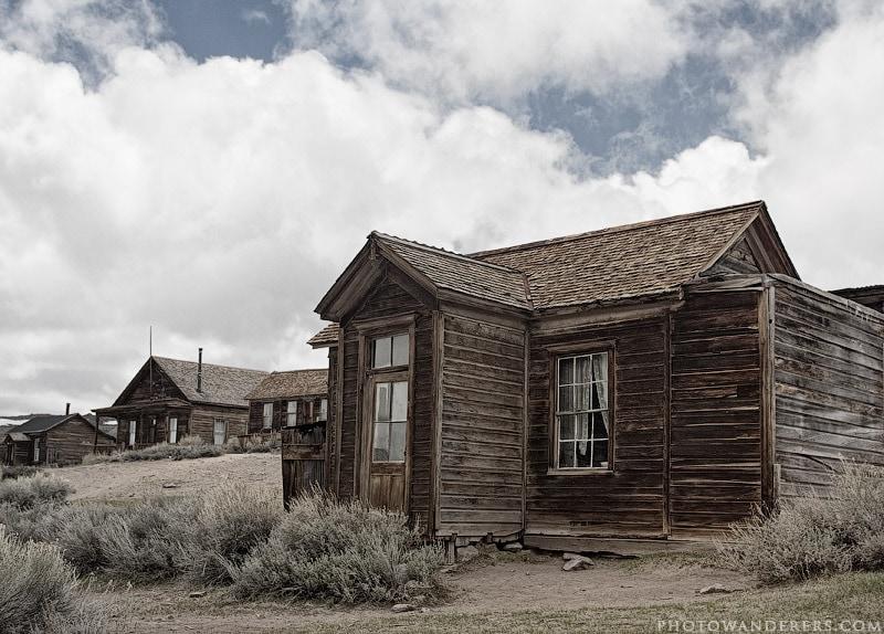 Прошлое непостоянно, город-призрак Боди (Bodie Ghost Town)