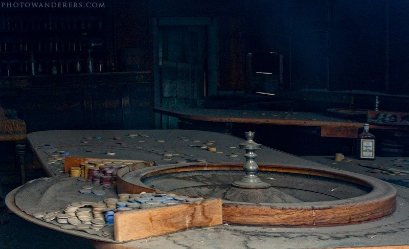 Рулетка с фишками, город-призрак Боди (Bodie Ghost Town)
