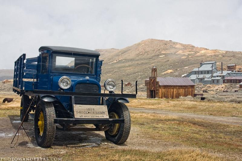Голубой грузовик, город-призрак Боди (Bodie Ghost Town)